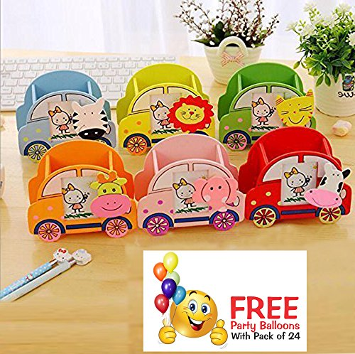 Pen Stand With Photo Frame For Kids Lelodiscount
