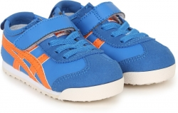 Asics Boys & Girls Velcro Running Shoes  (Black)