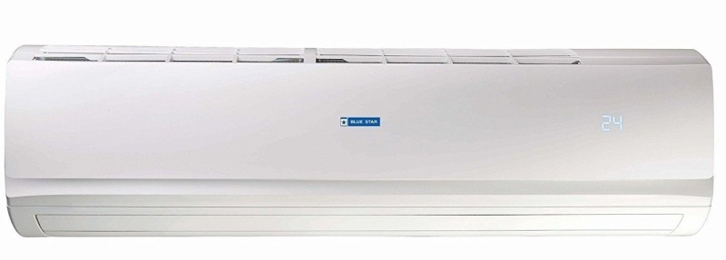 Blue Star 2 Ton 3 Star BEE Rating 2018 Split AC – White  (3HW24AATX, Aluminium Condenser)