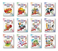 Colouring Books Collections by InIkao (12 Books) Paperback – 2017