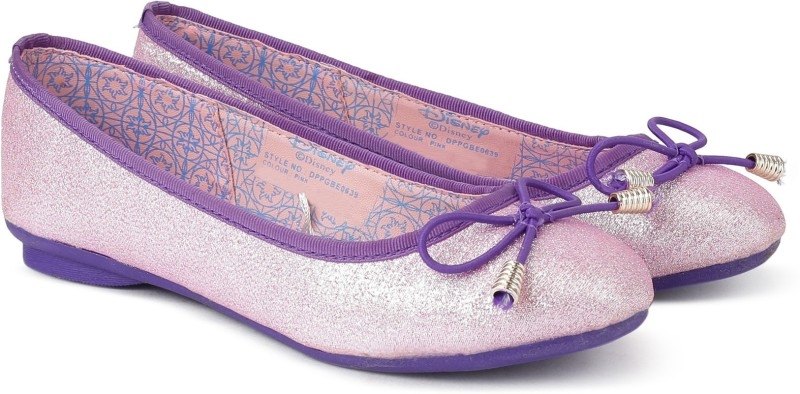 Disney Princess Girls Slip on Ballerinas  (Pink)