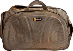 Inte Enterprises (Expandable) brown01 Travel Duffel Bag(Brown)