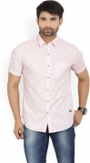 John Players Men's Printed Casual Shirt
