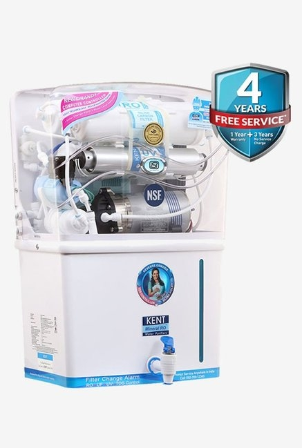 Kent Grand Plus 8-Litre RO+UF+UV with TDS Controller Water Purifier