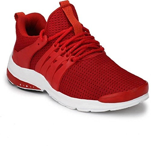 layasa Lifestyle Red Casual Shoes