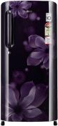 LG 190 L Direct Cool Single Door 4 Star Refrigerator  (purple orchid, GL-B201APOX)