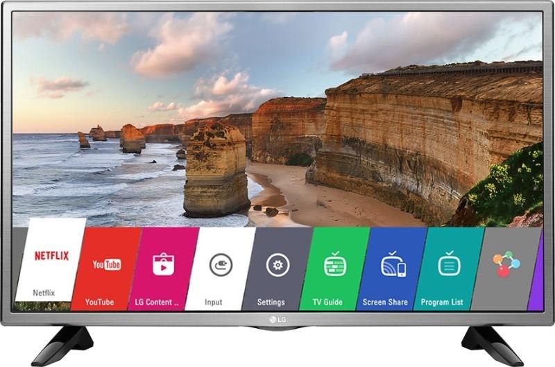 एलजी 80 सेमी (32 इंच) 32 एलएच 576 डी एचडी रेडी स्मार्ट एलईडी आईपीएस टीवी (ब्लैक)