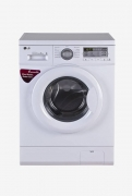 LG 6 kg Fully-Automatic Front Loading Washing Machine (FH0B8NDL2, Blue and White)
