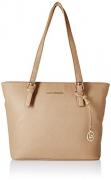 Lino Perros Beige Leather Handbag
