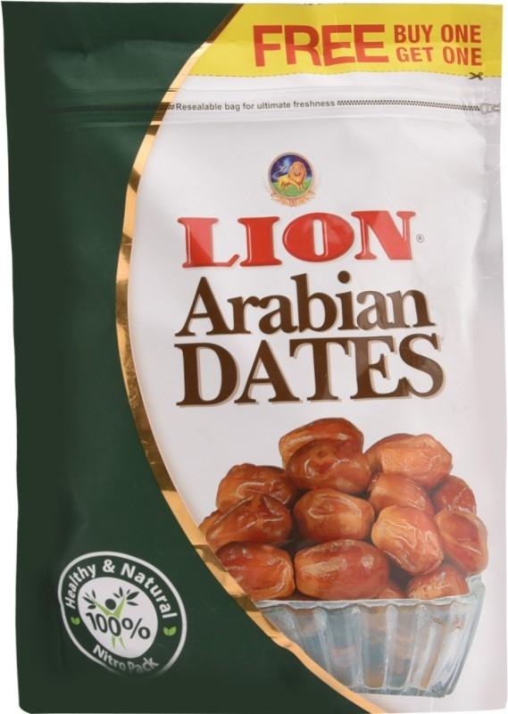 Lion Arabian Dates  (500 g, Pouch)