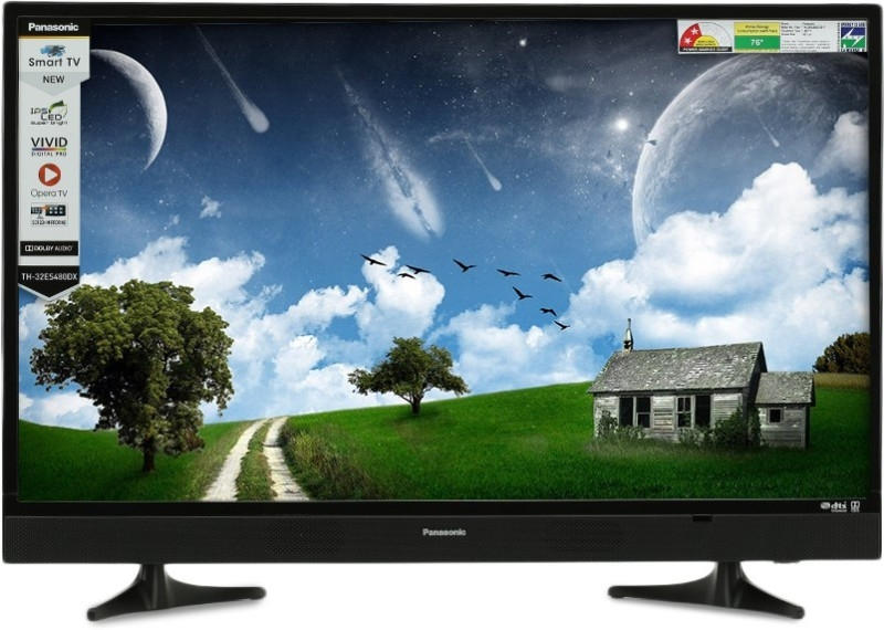पैनासोनिक 80.1 सेमी (32 इंच) एचडी रेडी एलईडी स्मार्ट टीवी (TH-32ES480DX)
