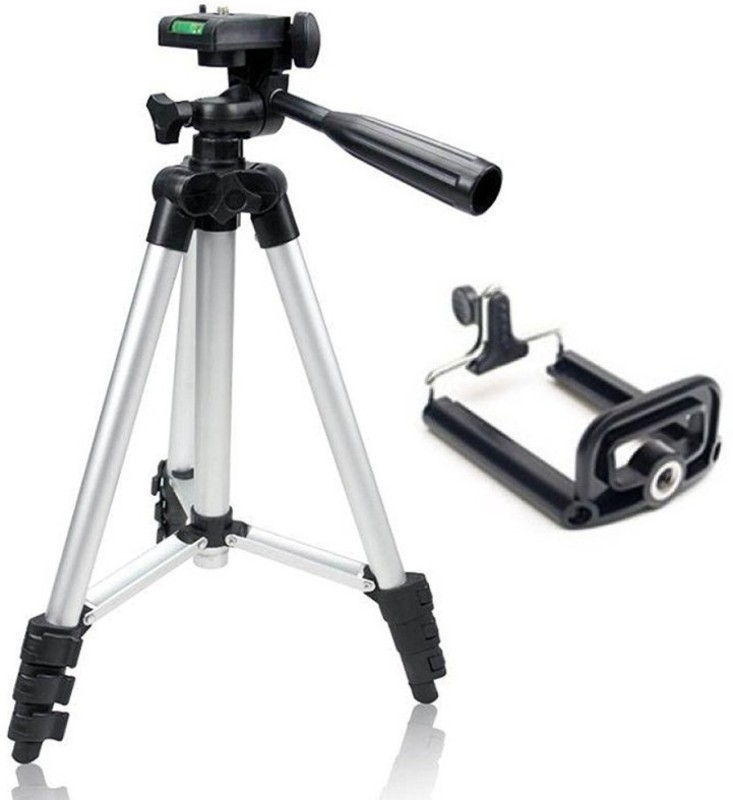 PH Artistic Tripod TF-3110 Portable Tripod Stand For Camera and phone Tripod Kit  (Black, Supports Up to 1500)