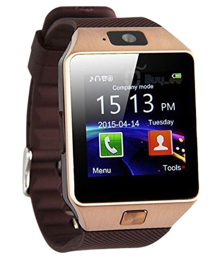 Doodads DZ50 Smart Watches Brown