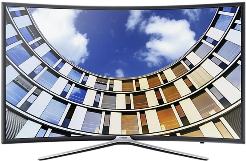 सैमसंग सीरीज  6 123 सेमी (4 9 इंच) फुल एचडी कर्वेड  एलईडी स्मार्ट टीवी (4 9 एम 6300)