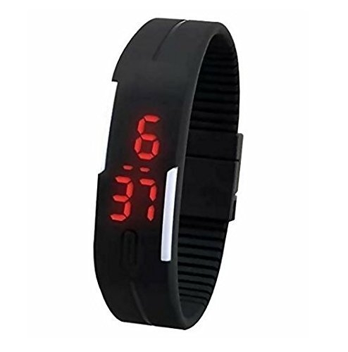 Slim Digital Led Bracelet Band Watch For Boys & Girls Birthday Return Gift