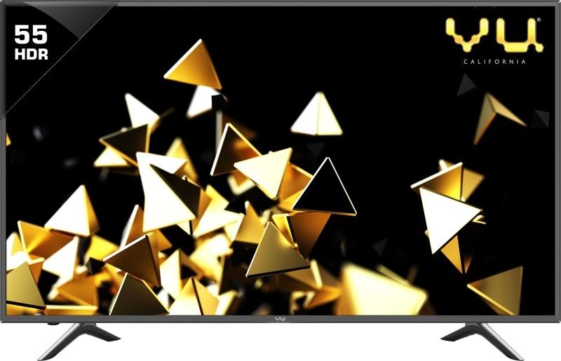 व्यू पिकसल लाइट  140 सेमी (55 इंच) अल्ट्रा एचडी (4 के) एलईडी स्मार्ट टीवी (LTDN55XT780XWAU3D)