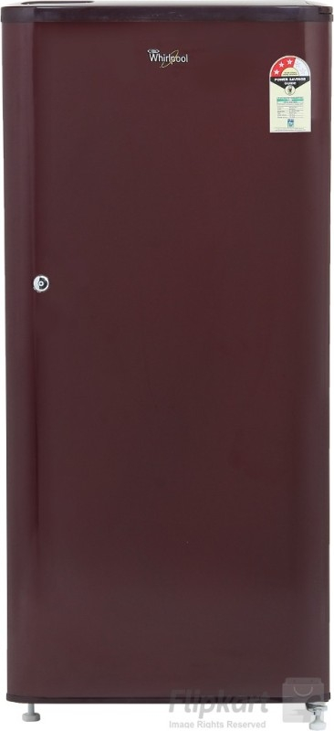 Whirlpool 190 L 3 Star Direct-Cool Single Door Refrigerator (WDE 205 CLS 3S SOLID GREY-E, Grey)