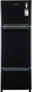 Whirlpool 300 L Frost Free Triple Door Refrigerator  (Caviar Black, FP 313D Protton Roy)