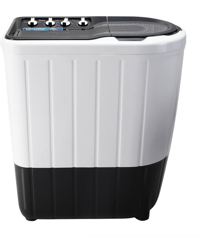 Whirlpool 7 kg Semi Automatic Top Load Washing Machine Grey  (Superb Atom 70S)
