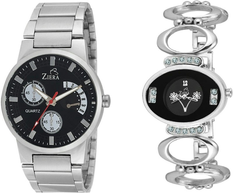 Ziera ZR2885-ZR8001 Special dezined collection Silver Watch – For Men & Women